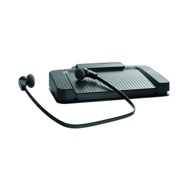 Philips Black SpeechExec Digital Transcription Set LFH7177