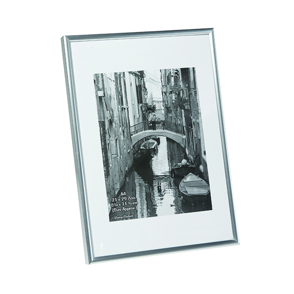 TPAC Photo Backloading Certificate Frame A4 Silver A4MARSIL-NG