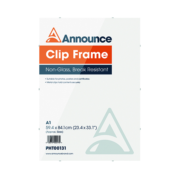 Image for Announce Metal Clip Frame A1 PHT00131