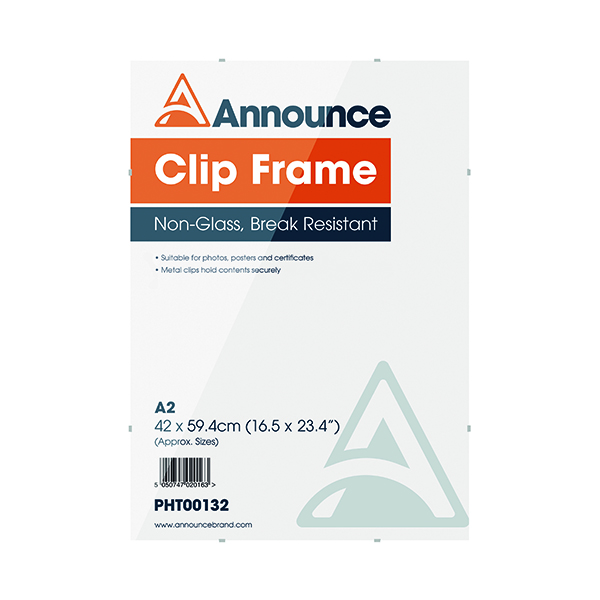 Image for Announce Metal Clip Frame A2 PHT00132