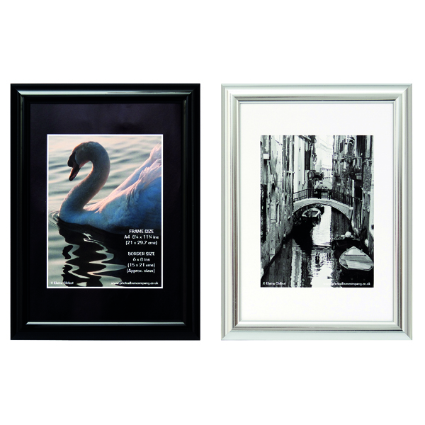 TPAC Photo Certificate Frame A4 Black PILA4SHIN-Black