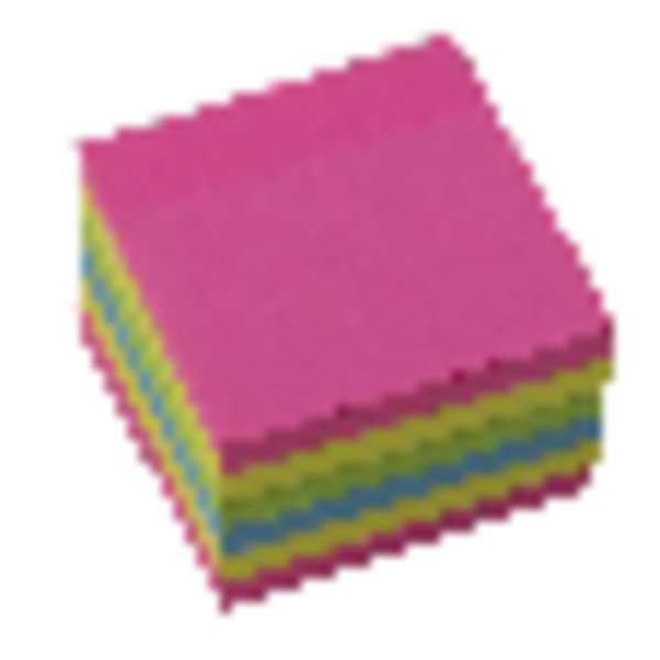 Image for Initiative Extra Sticky Notes Assorted Neon Colours 76 x 76mm 90 Sheets Per Pad