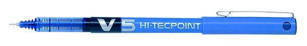 Pilot V5 Hi-Tecpoint Ultra Rball XFine Blue (Pack of 20) 3131910516514