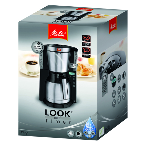 Melitta Look IV Therm Selection Coffee Machine White 6738075