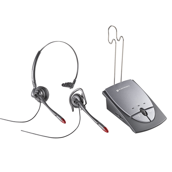 Plantronics Silver S12 Amplifier and Headset 36784-01
