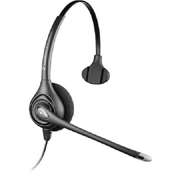 Plantronics Supraplus Monaural Wideband Headset HW251N