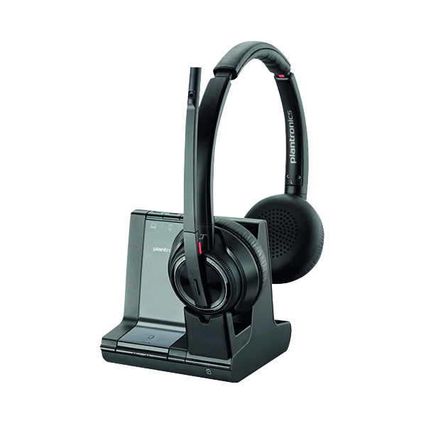 Plantronics Savi 8220 Wireless  Headset Binaural UC 207325-12