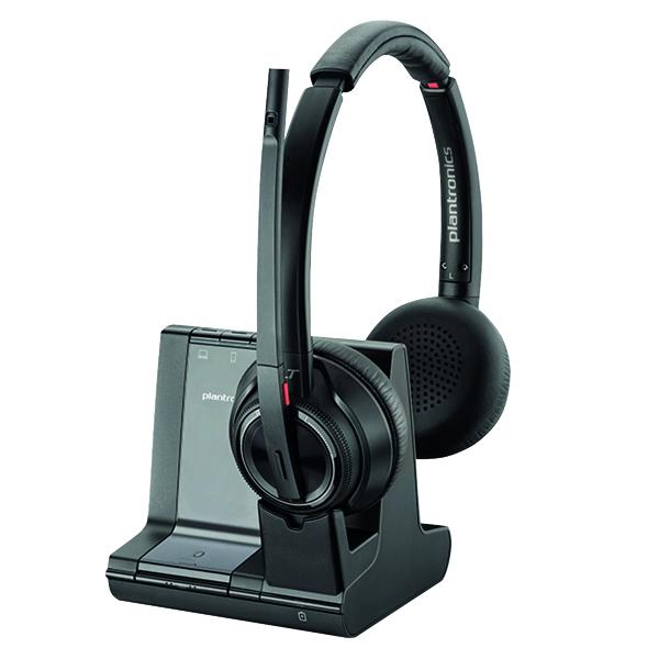 Plantronics Savi 8220 Wireless  Headset Binaural MS 207326-02