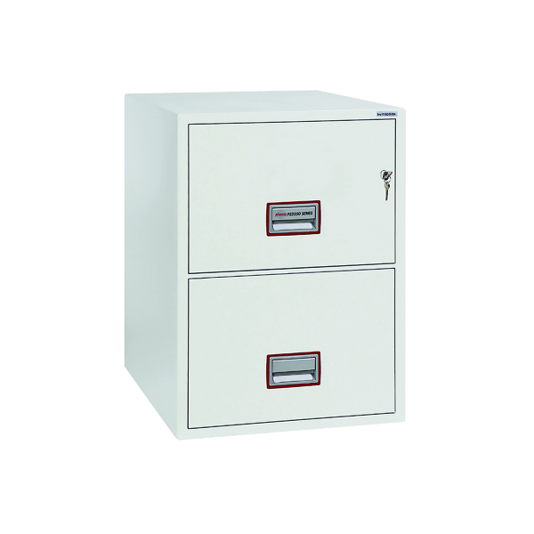 Image for Phoenix 2 Drawer 90 Minute Fire Rated Filing Cabinet FS2252K