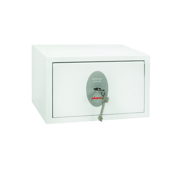 Phoenix Fortress High Security Burglary Safe White SS1181K