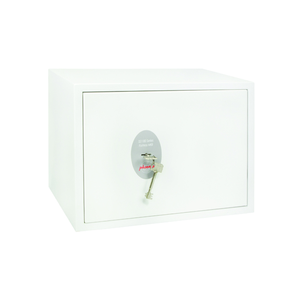 Phoenix Fortress High Security Burglary Safe White SS1182K