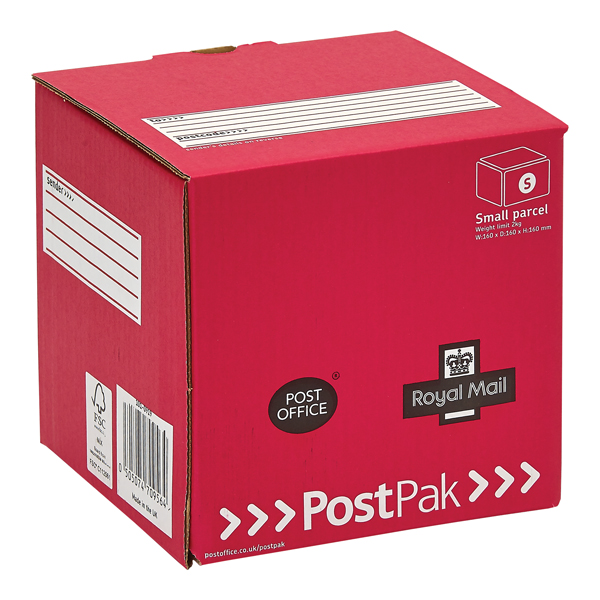 Postpak Red Cube Mailbox (Pack of 20) P20