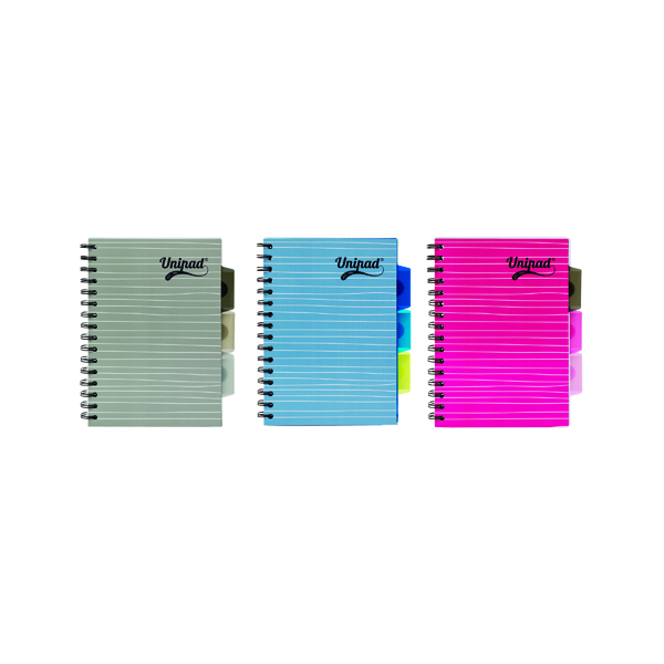 Pukka Pad Unipad Project Book A5 200 Pages (Pack of 12) 6201-UNI
