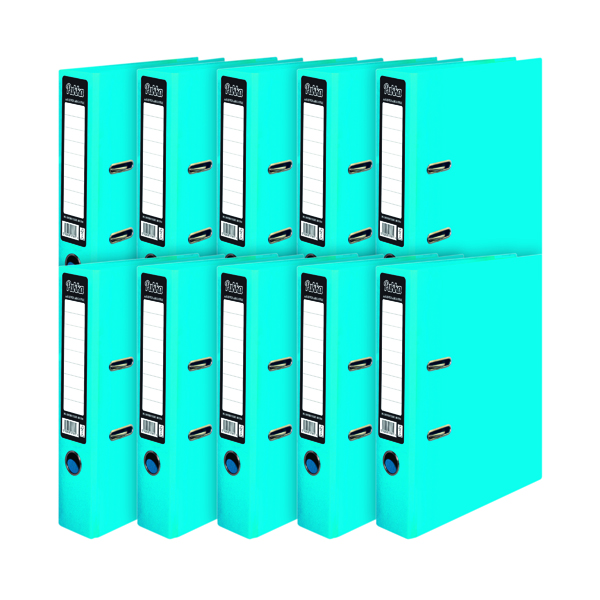 Pukka Brights Lever Arch File A4 Blue (Pack of 10) BR-7761