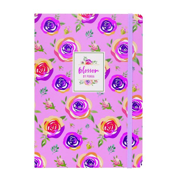 Pukka Pad Blossom Notebook (Pack of 3) 8649(AST)-BLO