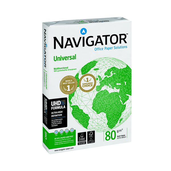 Navigator A3 Universal White Paper (Pack of 2,500 sheets) NAVA380