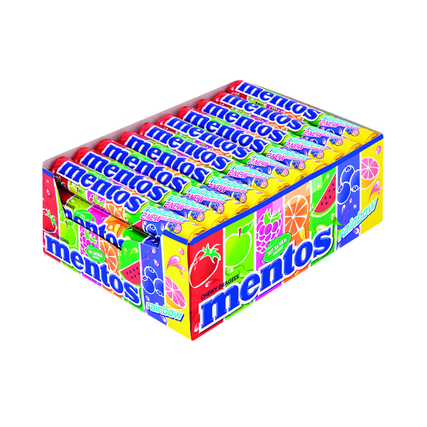 Mentos Rainbow Sweets (Pack of 40) 2063