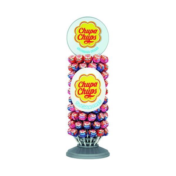 Chupa Chups Sugar Free Lollipops Slim Wheel (Pack of 120) 8403362
