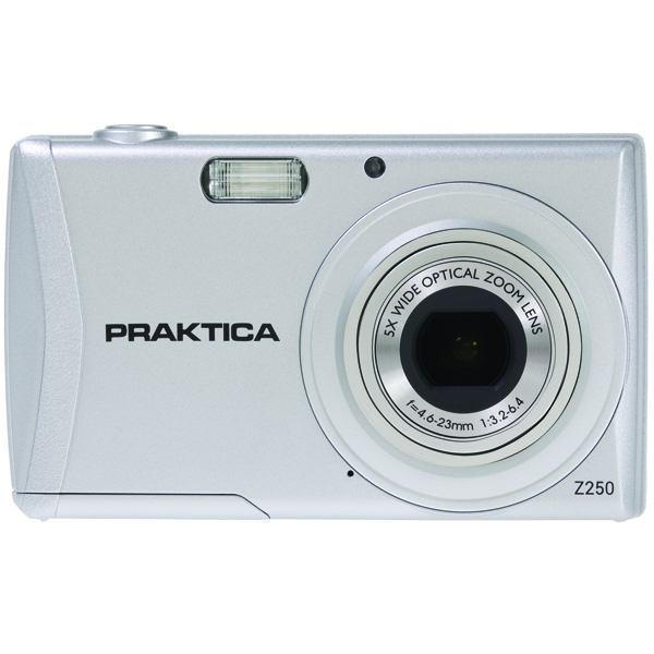 Image for Praktica Luxmedia Z250 20mp 5x 64mb Camera (Shoots HD 720p video) Z250-S