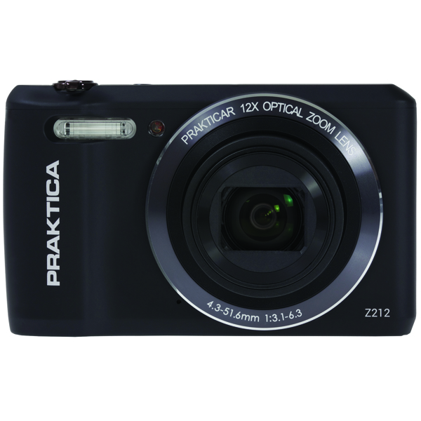 Image for Praktica Luxmedia Z212 20mp Camera Z212-BK