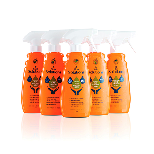 Hand Sanitising Spray 64% Alcohol 250ml (Pack of 6) X/8674