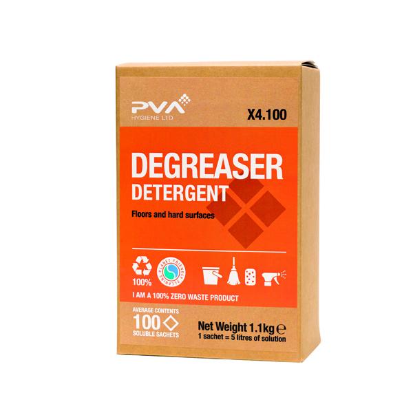 PVA Degreaser Detergent Sachets (Pack of 100) PVAA4-100
