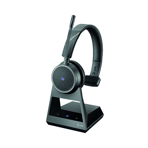 Poly Voyager 4210 Office Headset Base USB-A Cable Bluetooth 214002-05