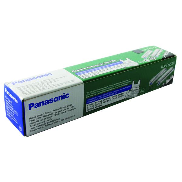Image for Panasonic Ink Film Cartridge 32104 (Pack of 2) KXFA54