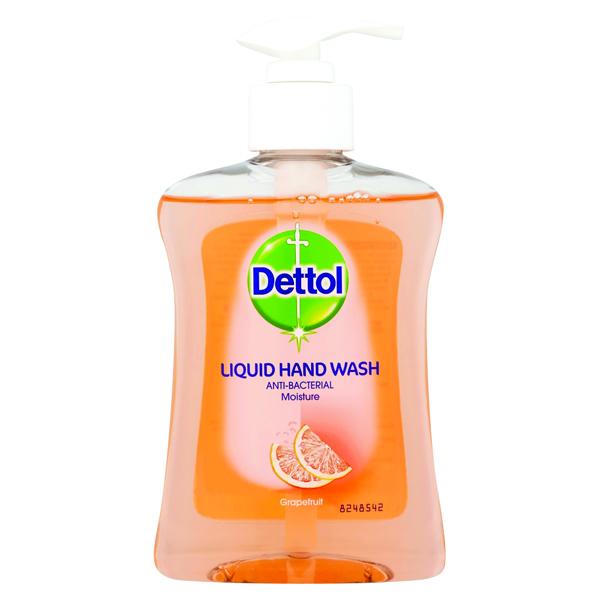 Dettol Moisture Hand Wash Grapefruit 250ml 8071864
