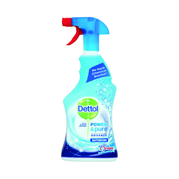 Dettol Power & Pure Advance Bathroom Spray 750ml RB788783