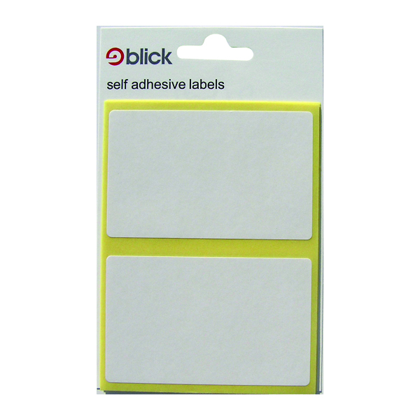 Blick White 50x80mm Label Bag (Pack of 280) RS000457