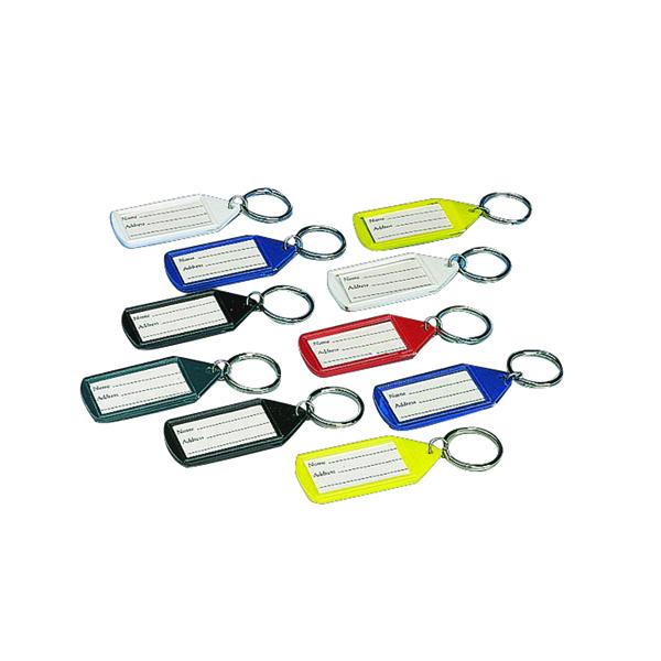 Stephens Assorted Tabbies Keyrings (Pack of 10)