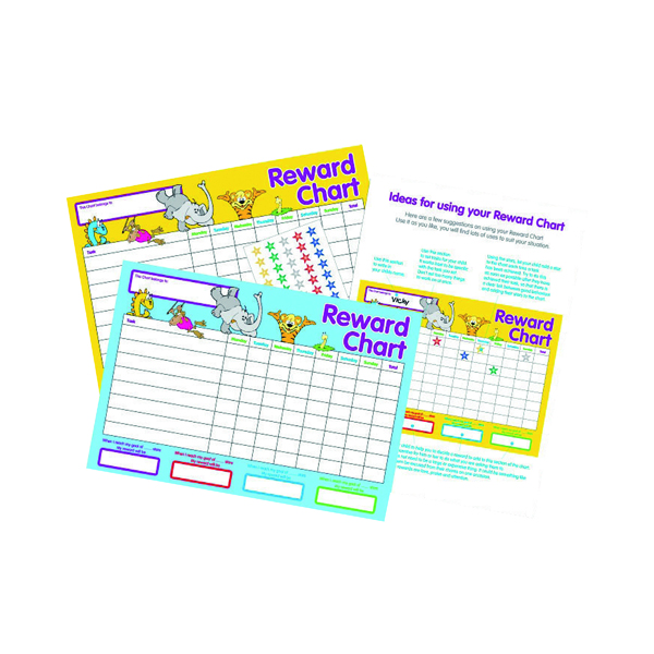 Stephens Reward Chart (Pack of 10) 3