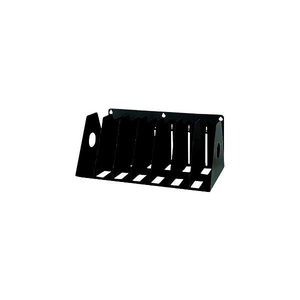 Image for Rotadex 7-Section Ring Binder Filing Unit A4 Black A4R/7