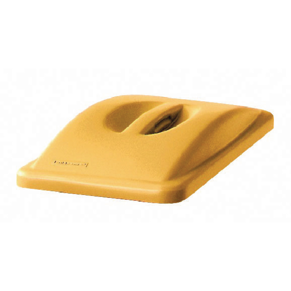 Rubbermaid Slim Jim Handle Top Lid Yellow 2688-88-YEL