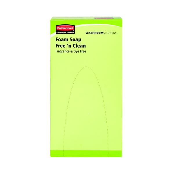 Rubbermaid Ecolabel Foam Soap Refill 800ml (Pack of 6) RVU8502