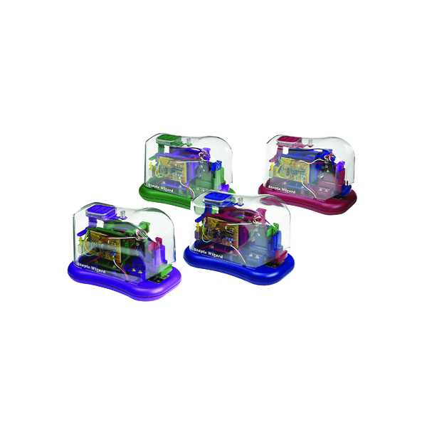 Rexel Wizard Battery Stapler (12 Sheet Capacity) 02055