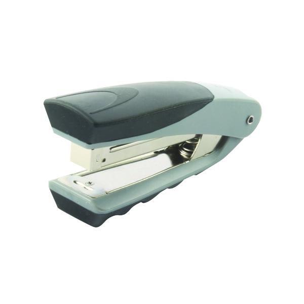 Rexel Centor Half Strip Stapler Silver/Black 2100595