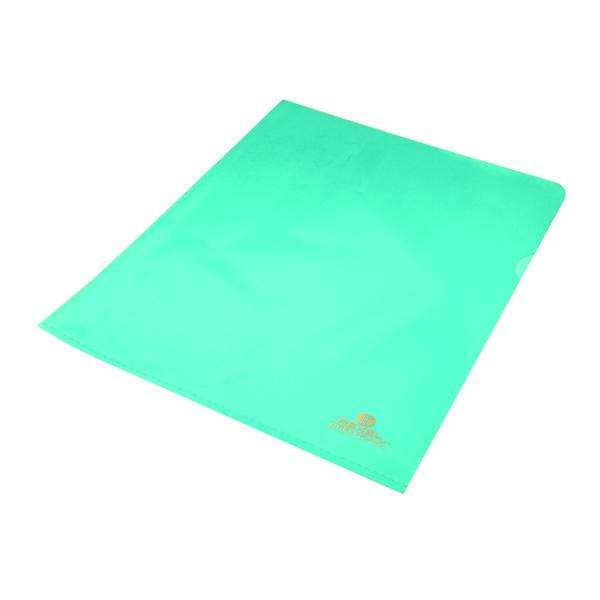 Rexel Nyrex Cut Flush Folder A4 Blue (Pack of 25) 12161BU