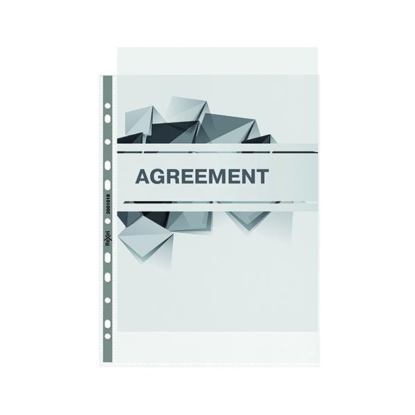 Rexel Nyrex Premium Top Opening Pocket A4 (Pack of 50) 2001018