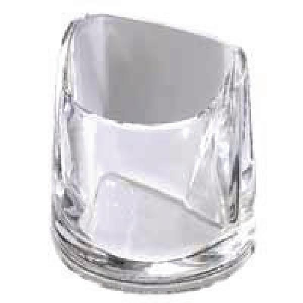 Rexel Nimbus Acrylic Pencil Cup Clear 2101502