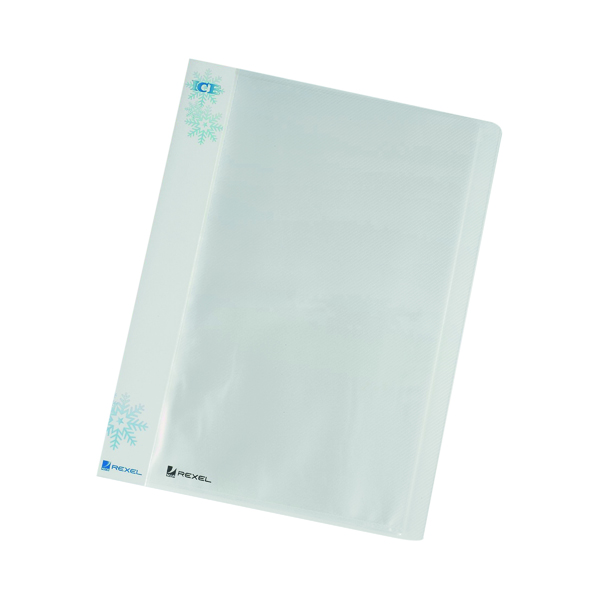 Rexel Ice Display Book 40 Pocket A4 Clear (Pack of 10) 2102041