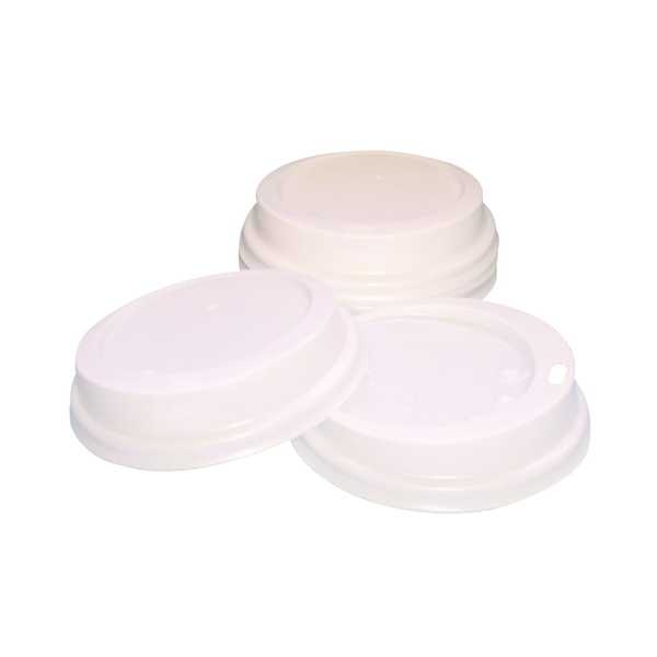 Caterpack 35cl Paper Cup Sip Lids White (Pack of 100) MXPWL90