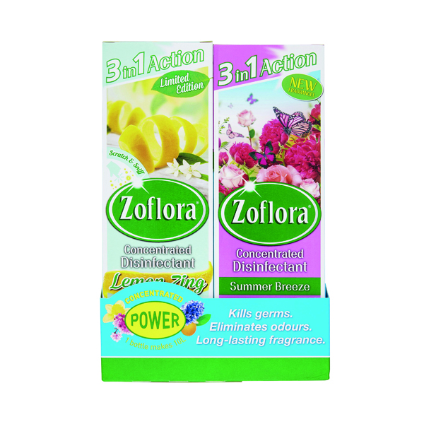 Zoflora 3-in-1 Concentrated Disinfectant 250ml (Pack of 8) 20220