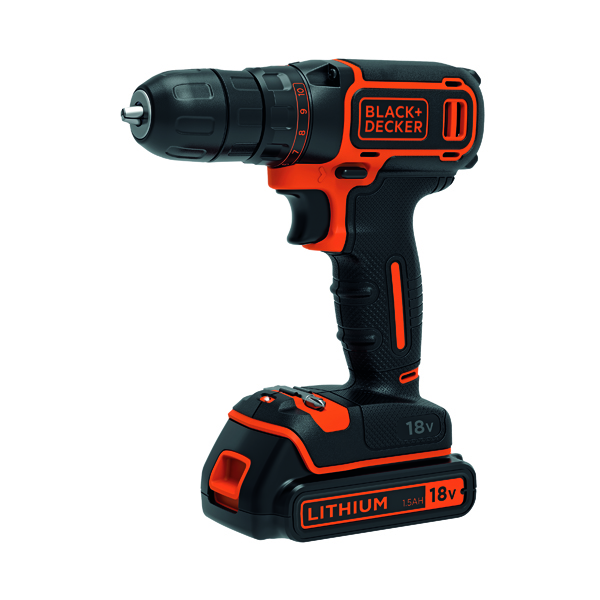 Black and Decker Drill Driver 18V BDCDC18-GB