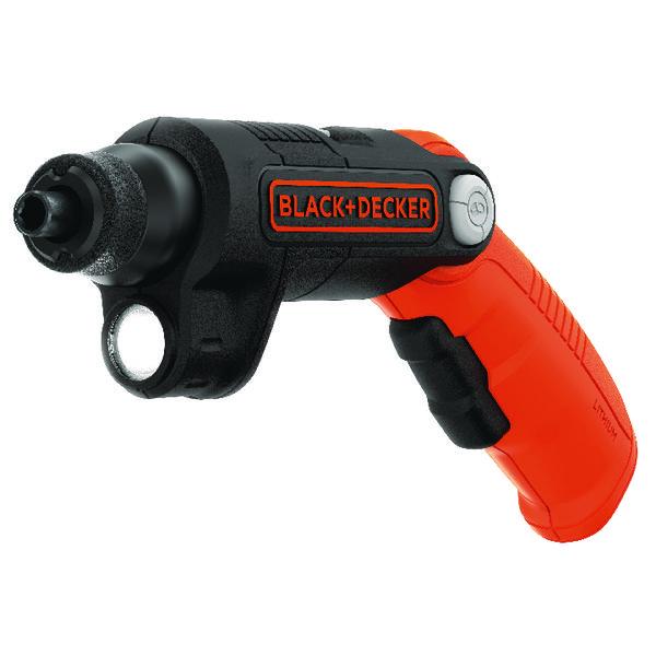 Black and Decker Screwdriver With Flash BDCSFL20C-GB