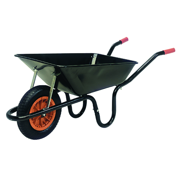 Image for Heavy Duty Wheelbarrow 100 Litre Black (360mm pneumatic tyred) 379990