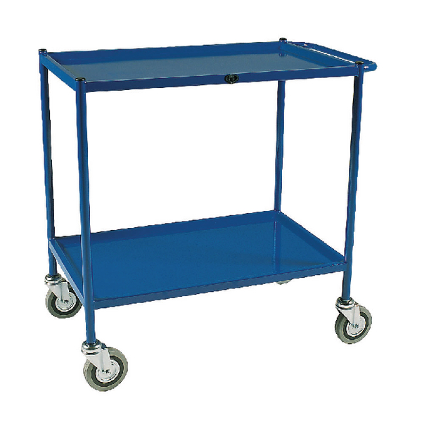 Service Trolley 2-Tier 747X432mm Blue 306761