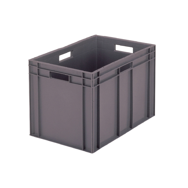 VFM 600x400x412mm Grey European Stacking Container 307377