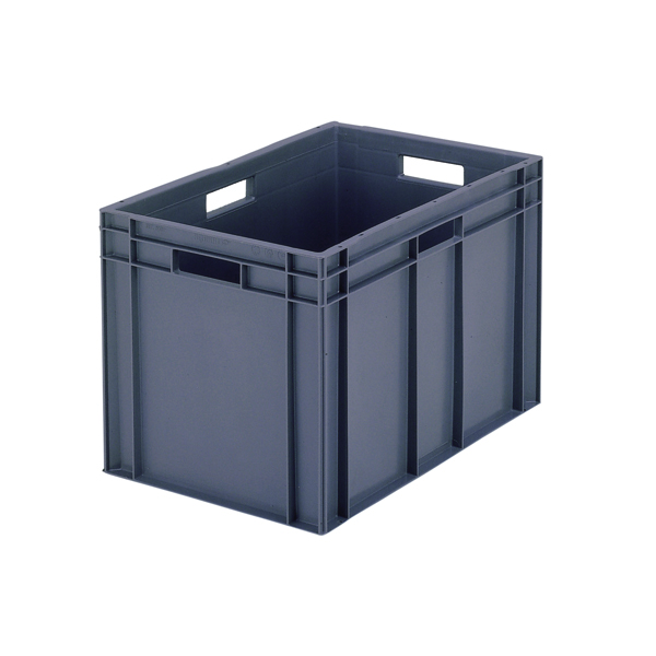 VFM 600x400x280mm Grey European Stacking Container 307493